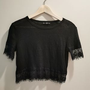 🔥 3 for 25 🔥Zara lace crop top